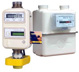 Установка газовых счетчиков схема фото 267