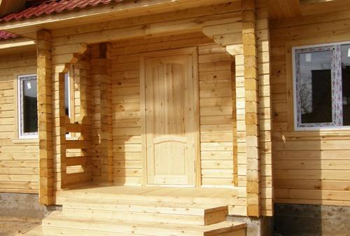 Деревянное крыльцо к дому своими руками