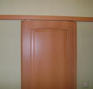 Межкомнатной двери купе своими руками