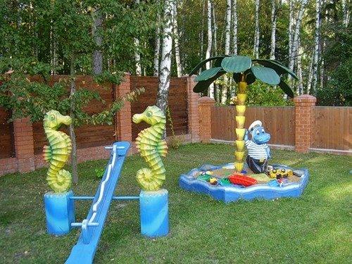 Ландшафтный дизайн детского сада своими руками