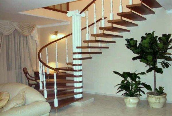 Лестница на мансарду