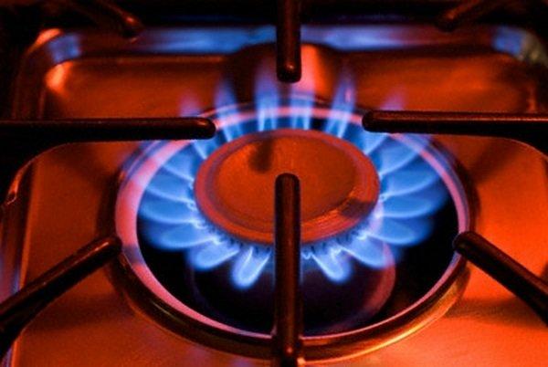Газ из конфорки