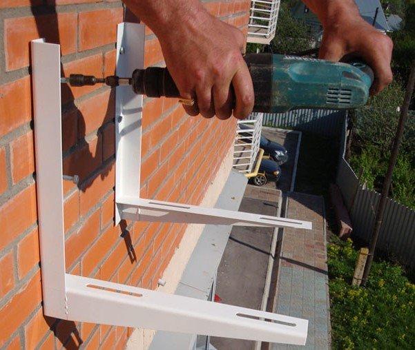 Установка кондиционера на балконе: как установить на лоджии,.