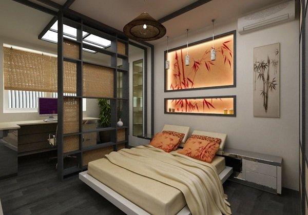 Спальня в японском стиле своими руками фото