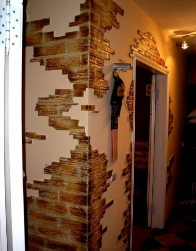 Искусственный в коридере