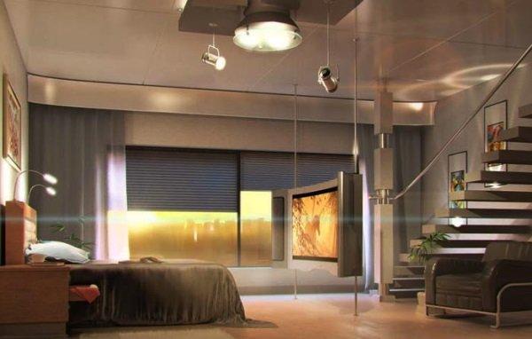 Стиль «Техно» в интерьере квартиры