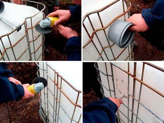 Подготовка и сборка резервуаров