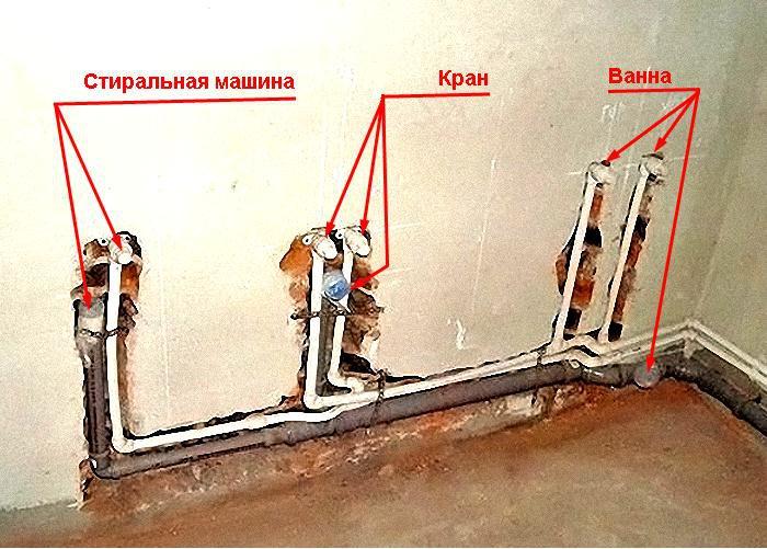 Разводка канализационных труб в ванной и туалете своими руками 160