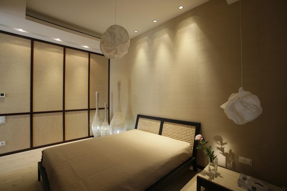 Кремовый цвет спальни