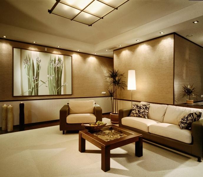 Зал в японском стиле