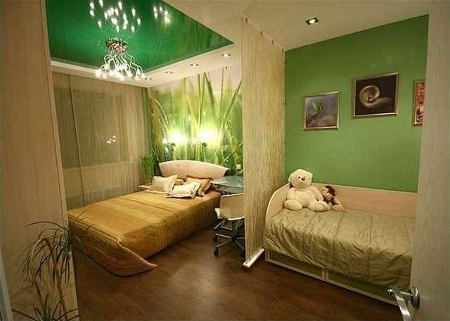 Как сделать с одной комнаты детскую и спальню