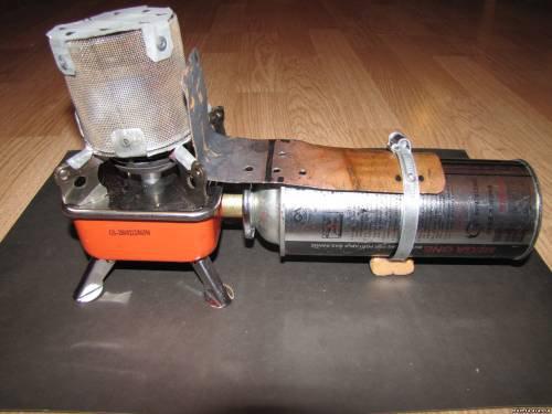 Газовое обогревательное устройство