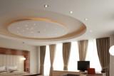 Секреты красивого дизайна потолка в спальне