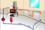 Как сделать паровое отопление?